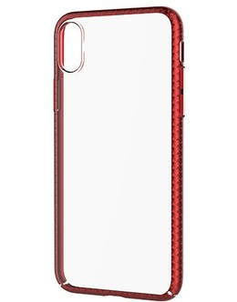 Накладка Devia Luxurious Glimmer case iPhone X/XS (Цвет: Red)