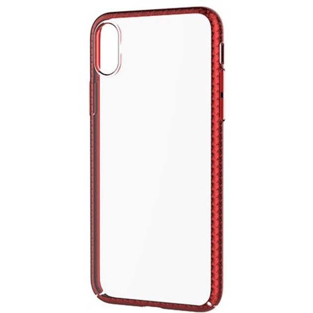 Накладка Devia Luxurious Glimmer case iPhone X (Цвет: Red)