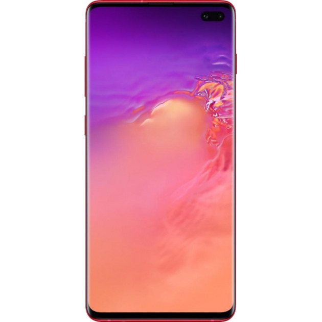 Смартфон Samsung Galaxy S10+ 8/128Gb (Цвет: Cardinal Red)
